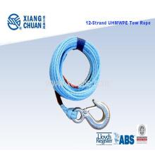 Cuerda de remolque de 12 hilos UHMWPE