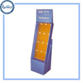 Cardboard Material Flooring Retail Shop Clothes Hanger Stand