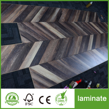 Reka Bentuk Baru Laminate Color Fishbone Flooring