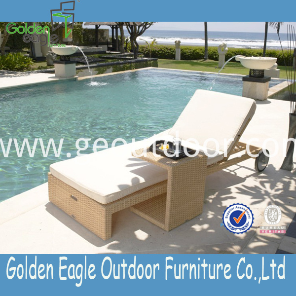 outdoor aluminium rattan furniture
