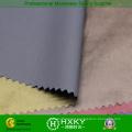 40d fibra preta com revestimento de espuma tecido de nylon para baixo casaco