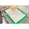 Easy clean silicone baking mat Reusable FDA Grade Grill and Fiberglass Custom Non-Stick silicone heat resistant pan mats