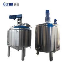 Cuve de mélange de mélange de l'industrie chimique pharmaceutique de nourriture d'acier inoxydable de qualité