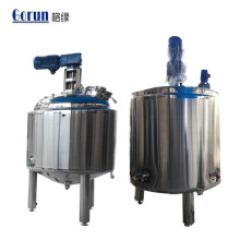 High Quality Stainless Steel Food Pharmaceutical Chemical Industry Mixing Blending Tank