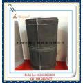 Non Alkali E-PTFE saco de filtro de poeira de fibra de vidro para o preto de carbono