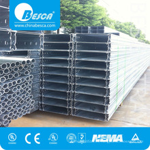 Besca Hot Sale Pre-Galvanized Nuevo estilo Popular Cable Trunking