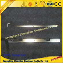 Profil en aluminium pour la poignée en aluminium de décoration