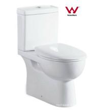 Watermark Bathroom Céramique Washdown Two Piece Toilet (8011)