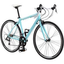 Bicycle for Men and Women, Alluminum Frame, 16-Speed, Carbon Fiber Fork, 700c Road Bike