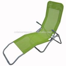 outdoor metal folding sun lounge