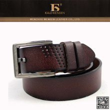 Factory price 2015 China high quality genuine leather wide leather belt