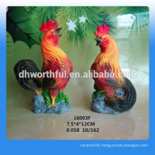 2016 new year gift chicken statue for Russian market