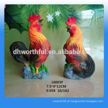 2016 estátua de galinha de presente de ano novo para o mercado russo