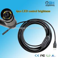 15м Водонепроницаемый цифровой USB-кабеля канализационных труб цифровой инспекции Видеоскоп