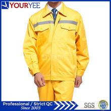 Ropa de trabajo de seguridad asequible con cinta reflectante (YMU121)