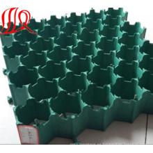Adoquines de hierba porosa de plástico HDPE / Rejillas de pavimentación