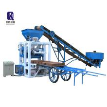 QT4-23A semi automatic concrete hollow block making machine price