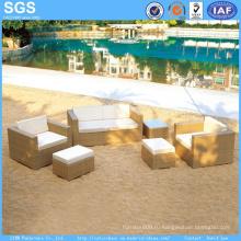 Уличная мебель из садовой мебели из ротанга