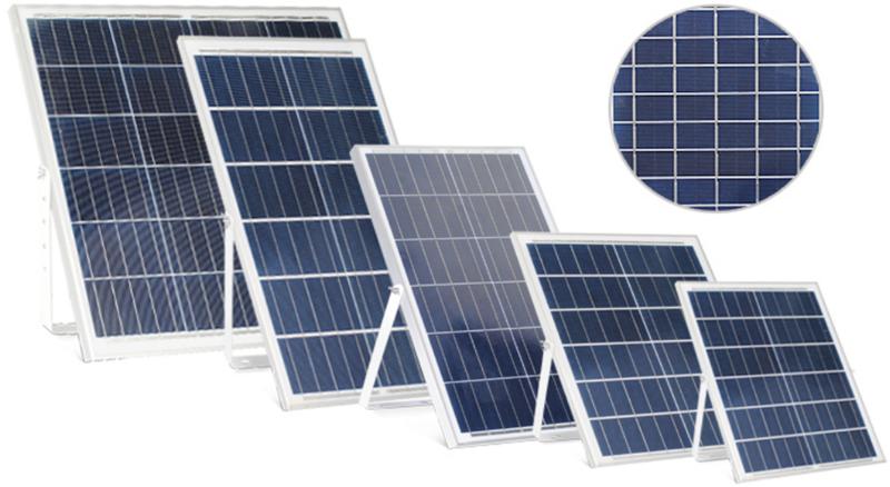 200W solar flood light with remote control