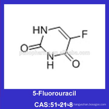 5-Fluorouracil en polvo 51-21-8 USP32 5 Fluorouracil Quick Delivery