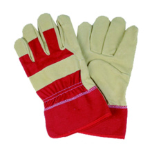 Pig Grain Safety Work Glove, Full Palm CE Leather Glove