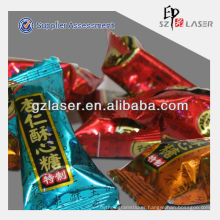 Hologram coconut packing plastic bag for candy