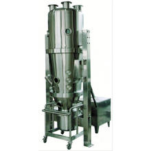 2017 FLP series multi-function granulator and coater, SS atomizer spray dryer, vertical powder coating system