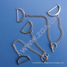 Cadena de cintura de metal, cinturón de metal