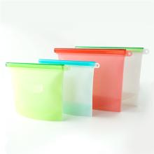 Bolsas de almacenamiento de ahorro de alimentos Bolsa de contenedores de sándwich reutilizables