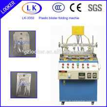 LK-3350 Máquina de dobra automática de lados plásticos para clamshells blister