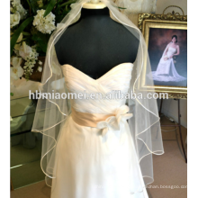 A nova noiva véu de casamento Suzhou atacado coreano - estilo ouro aparado nupcial do casamento nupcial acessórios do casamento véu