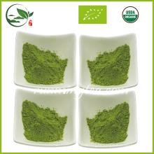 2017 Fresh Organic Matcha de salud beneficia el té verde