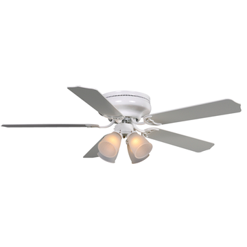 Flush Mount Energy Saving Modern Style Ceiling Fans with Lights for Living Room