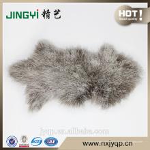 Китай Поставщик подлинная монгольских овец меха кожа розовый