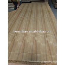 chapa de madera contrachapada colores / madera de teca marina / 4 mm chapa de madera de teca contrachapada