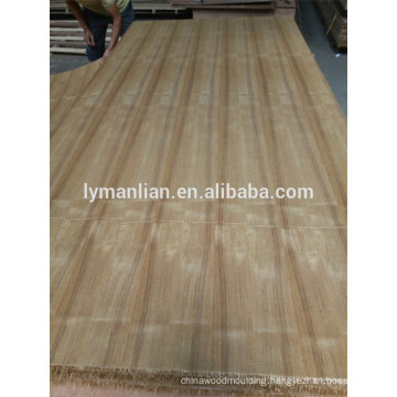 veneer plywood colors/ teak marine plywood/4mm teak veneer plywood