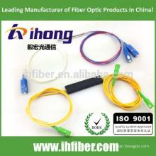 FBT 1 * 2 10/90 20/80 30/70 40/60 50/50 divisor de fibra óptica fundido