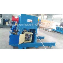 Dévidoir hydraulique automatique de tôle d'acier de 5 tonnes