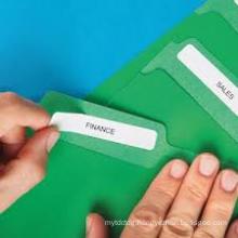 dymo 99017 compatible sticker label file folder label manila label