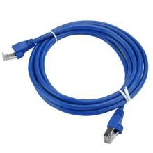 Câble de raccordement Ethernet RJ45 Cat6a SFTP plaqué or