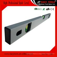Nivel de aluminio con banda magnética