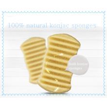 Éponge de bain de vente directe d'usine éponge Konjac bébé