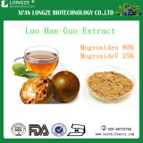 100% Natural Luo Han Guo Extract Powder /Monk Fruit Extract Powder Natural Sweetener