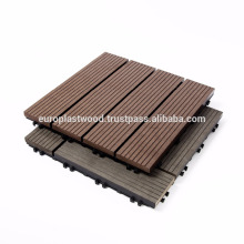 WPC interlocking DIY tiles