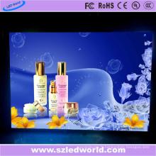 P2.5 écran de publicité de moulage sous pression LED de location d'intérieur
