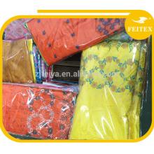 100% Хлопок Швейцария Кружева С Традиционными Стразы Африканского Кружевной Ткани Дамы Цветочные Кружева Платье Ткань