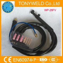 Gas cooled welding tig torch WP-26V torch