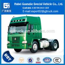 Modelo 2018 HOWO camión con toldo / HOWO primer motor / HOWO tractor con cabeza / HOWO tractor con cabeza de remolque / HOWO tractor con camión / 480Hp tractor cabeza