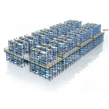 Plataforma de aço Mezzanine de dois níveis Plataforma Deck Deck