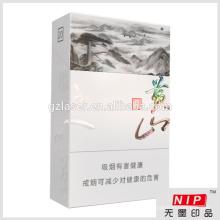 Hologram cigarette cardboard box manufacturer